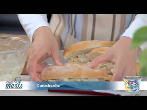 Warm Kraft Mozza Cheddar Turkey Ham Bokaditos thumbnail