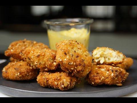 nuggets-de-poulet-et-mayonnaise-à-l'indienne-maison