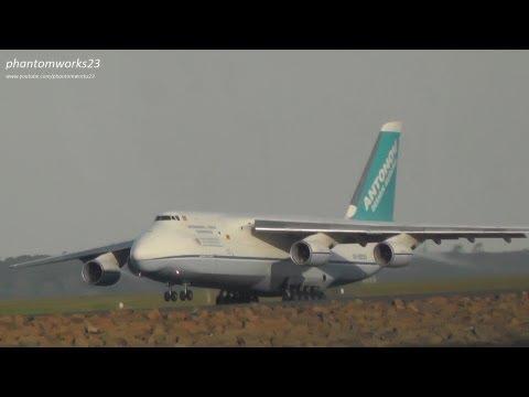 Antonov Design Bureau AN-124 Ruslan | Landing 34L | Sydney Airport