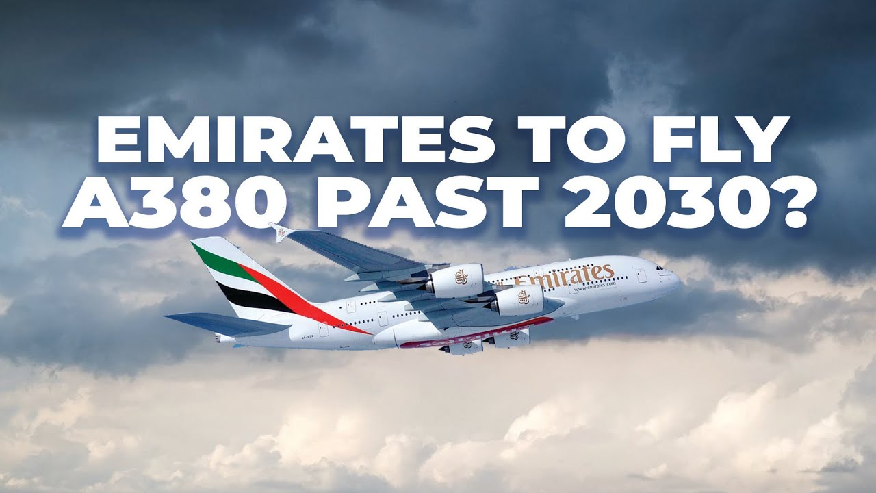 Emirates Plans Airbus A380 Flights For 10 Or More Years