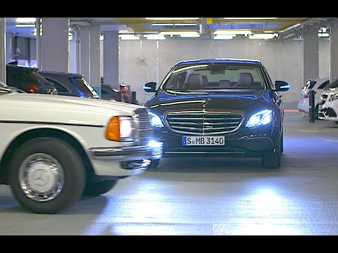 Mercedes Self Parking Car Demo Valet Parking Multi Story Car Park Mercedes Autonomous Car CARJAM