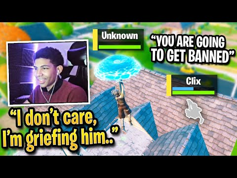 Clix OUTRAGED After Unknown GRIEFS Him In FNCS Finals! (Fortnite)