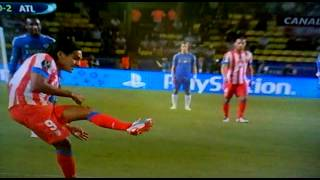 Chelsea Vs. Atletico Madrid Falcao amazing goals!