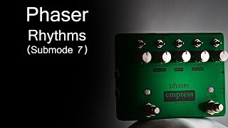 Empress Effects Phaser - Rhythms (Submode 7)