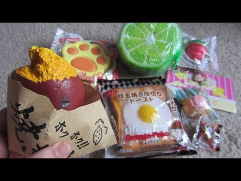 SQUISHYSHOP.COM PACKAGE!!! PUNIMARU LEMON 🔥🔥❤️❤️