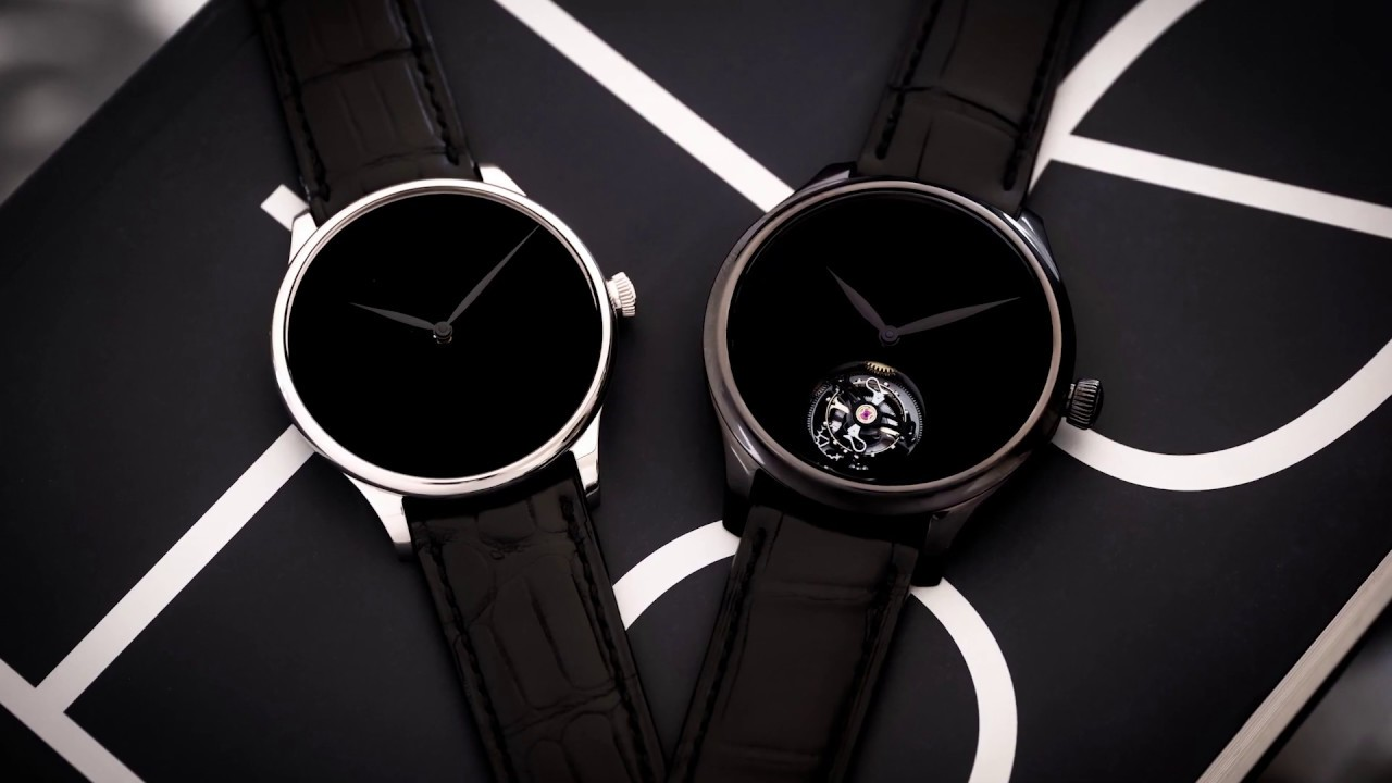 H. Moser video showing how Vantablack is used in their timepieces