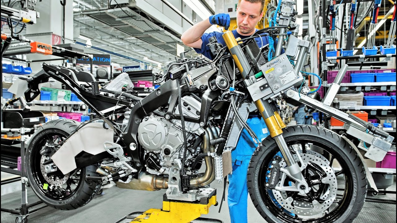 bmw motorcycles assembling youtube