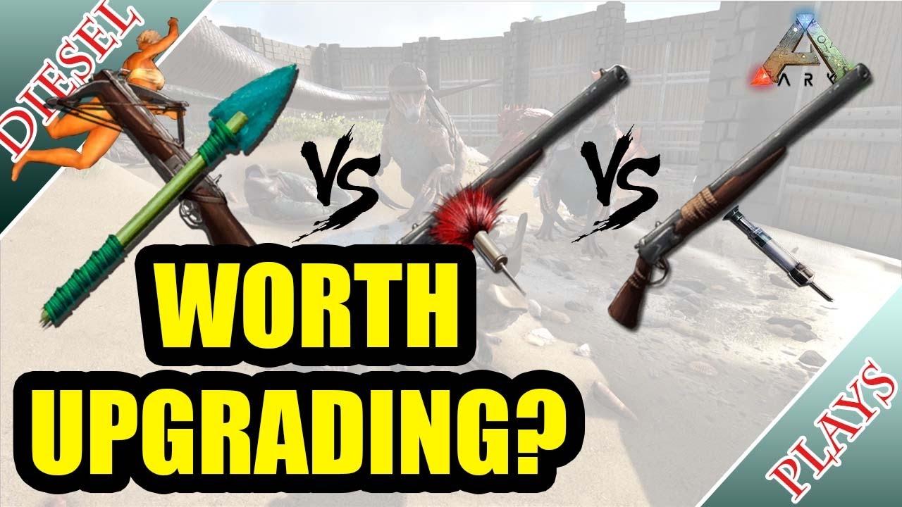 shocking tranq darts] TRANQ ARROWS VS TRANQ DARTS VS SHOCKING TRANQ