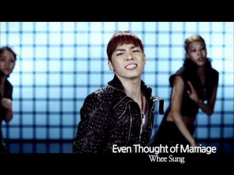 [K-POP, M/V] Whee Sung - Even Thought of Marriage (CJ E&M)