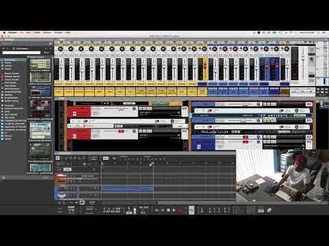 PROPELLERHEAD REASON 10 - CHRIS MARTIN TYPE DANCEHALL BEAT  [DJ GIO]