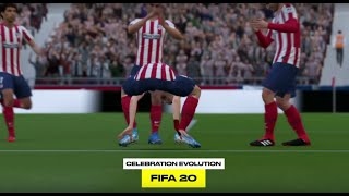 The Evolution of FIFA Celebrations from FIFA 02 to FIFA 20