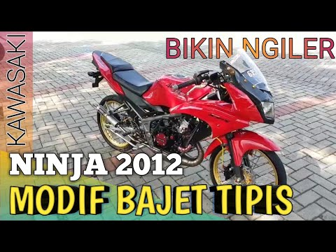Ninja RR 2012 |MODIFIKASI dan REVIEW
