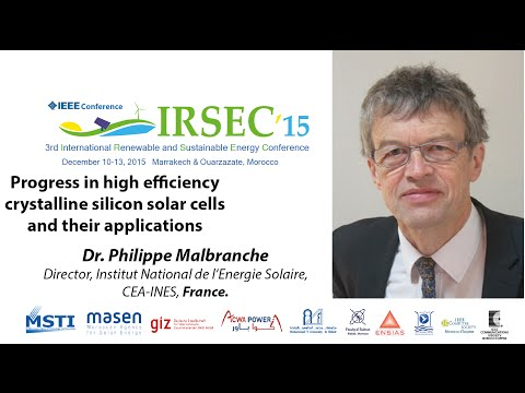 Dr. Philippe Malbranche, Keynote Speaker in IRSEC'15