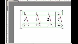 метод Гаусса для системы уравнений