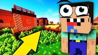 НУБИК ВОВОЧКА НАШЕЛ ДЕРЕВНЮ В Майнкрафт 8| Жизнь НУБИКА В Minecraft Ловушка ДОМ Вовочка и Нуб