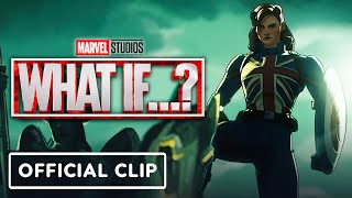 Marvel Studios' What If...? - Official Clip (2021) Hayley Atwell