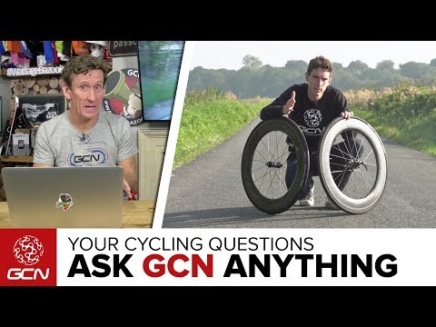 Rims Vs. Tyres, Which Makes You Faster?   Ask GCN Anything About Cycling