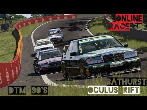 VR [Oculus Rift] Online Race DTM 90's at Bathurst   Assetto Corsa Gameplay