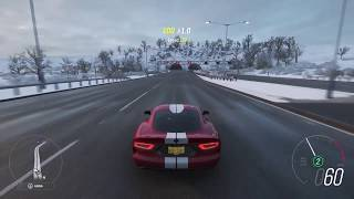 The updated Dodge Viper sounds absolutely PHENOMENAL in Forza Horizon 4