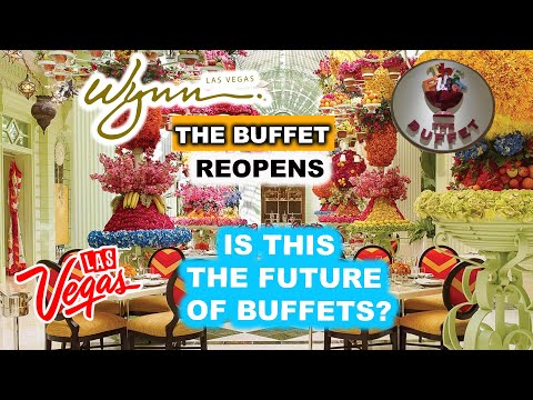 The BUFFET At WYNN Las Vegas REOPENS !! FIRST To Be Seated! MAJOR CHANGES - You Just Might LOVE IT!