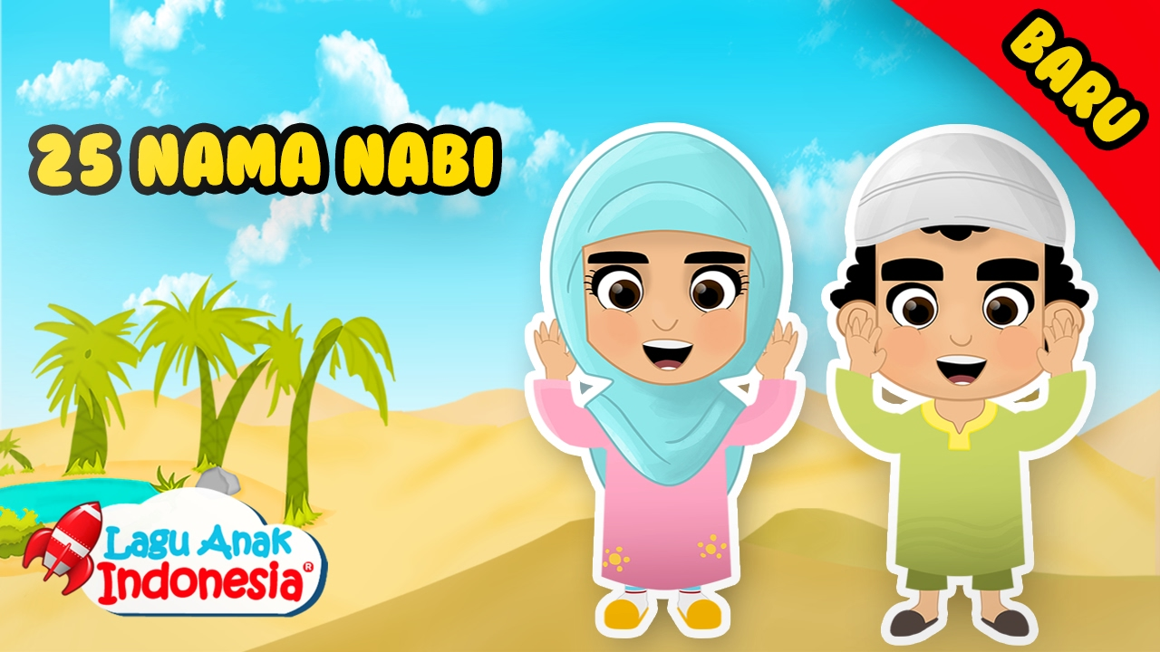 Nama Nama Nabi Lagu Anak Islami Lagu Anak Indonesia Youtube