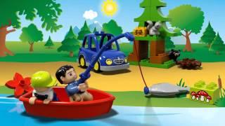 LEGO DUPLO - 10583 Ліс: риболовля(Візьміть свою дитину на риболовлю у ліс LEGO® DUPLO®! Прикріпіть човен на дах автомобіля, і нехай розпочнуться..., 2015-07-03T11:07:20.000Z)