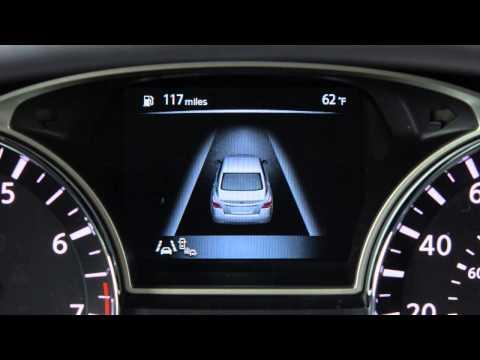 2015 Nissan Altima - Vehicle Information Display