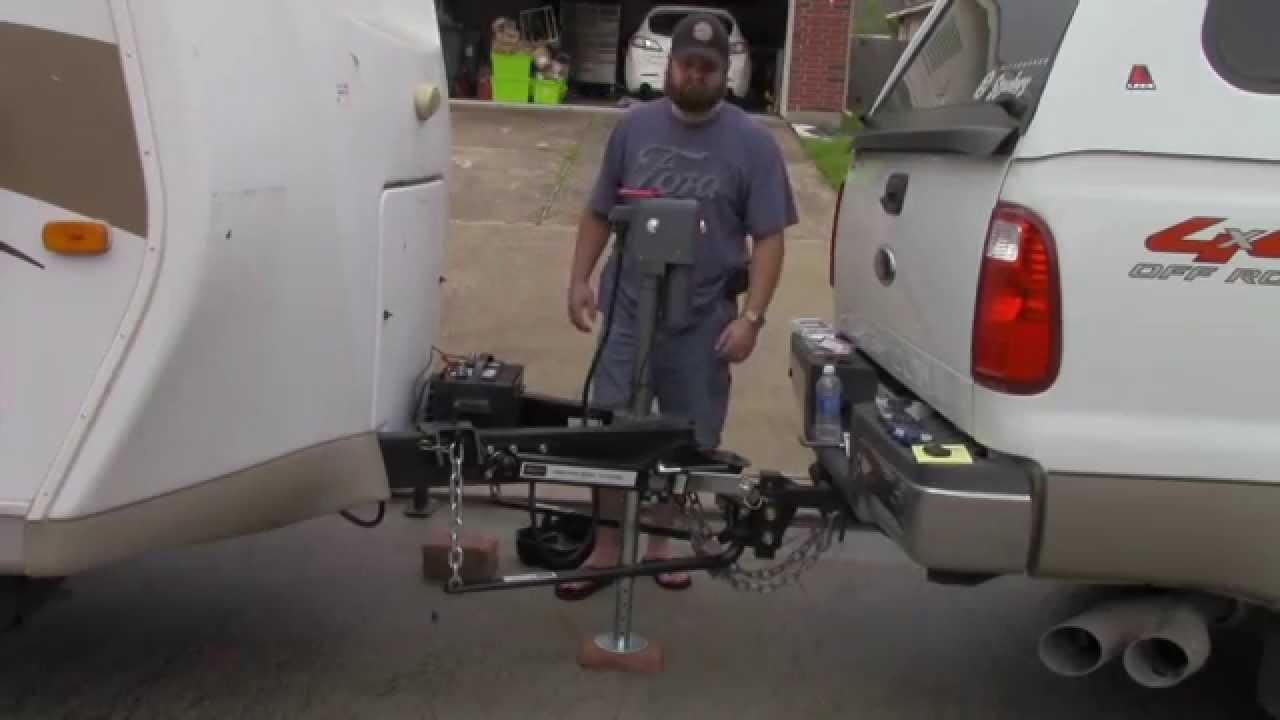 husky brute hb4500 electric tongue jack install 3 28 14 youtube trailer wiring diagram wiring electric trailer jack #44