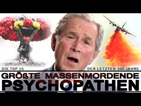 Die größten massenmordenden Psychopathen der letzten 100 Jahre