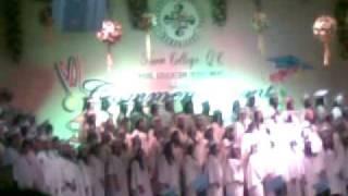 Siena College Quezon City Highschool Graduation March 2009