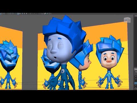 Как делается мультфильм видео