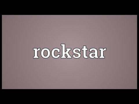 Rockstar Meaning
