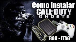 Call OF Duty Ghosts : Como instalar e traduzir XBOX 360 HD EXTERNO RGH - JTAG
