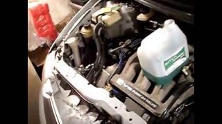 Mazda MPV эксплуатация и ремонт.Замена антифриза.
