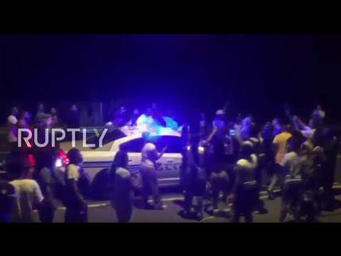 LIVE from Charlotte following night of clashes over police killing of Keith Scott