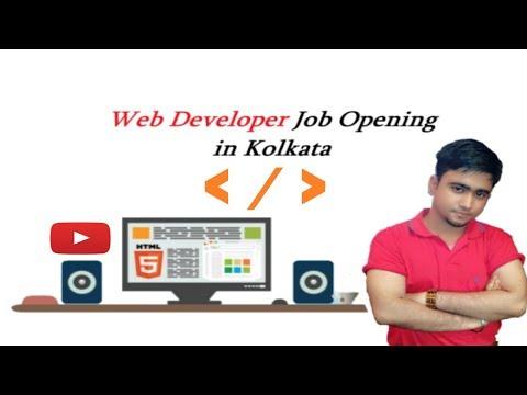 Web Developer Job Opening In Kolkata    PHP    Wordpress    Laravel    Magento    Codeigniter