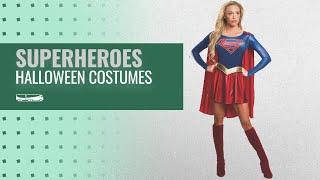 Top 10 Superheroes Women Halloween Costumes [2018]: Rubie's Women's Supergirl TV Show Costume