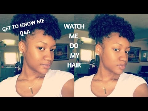 Watch Me Do My Hair + Q&A | Get To Know Me | Goals, Marriage, Kids, College