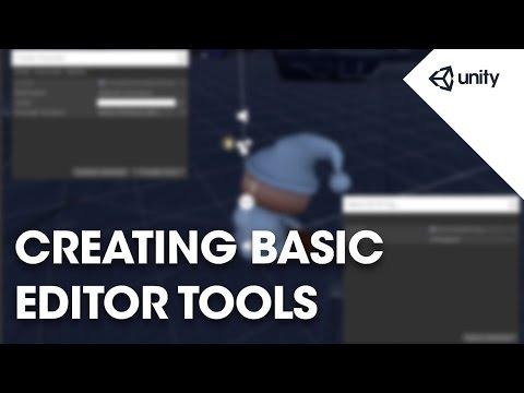 Live Training 3rd October 2016 - Creating Basic Editor Tools
