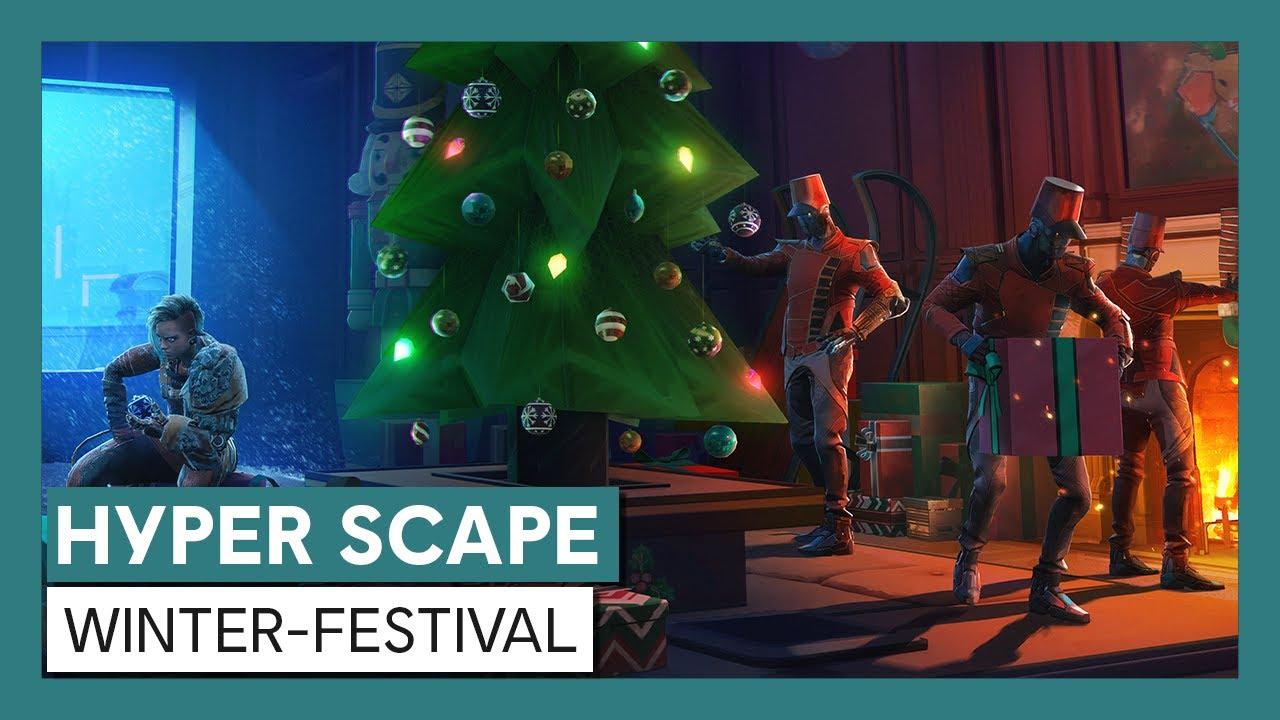 Hyper Scape: Winter-Festival Trailer | Ubisoft