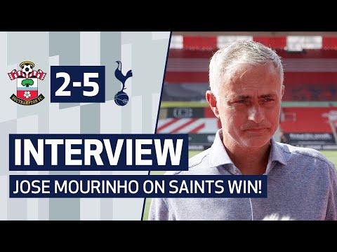 INTERVIEW | JOSE MOURINHO ON SAINTS WIN | Southampton 2-5 Spurs