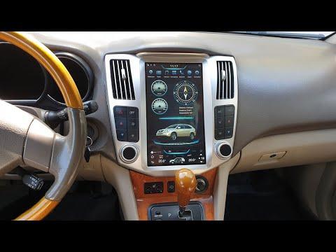 Магнитола в стиле Тесла для Lexus RX