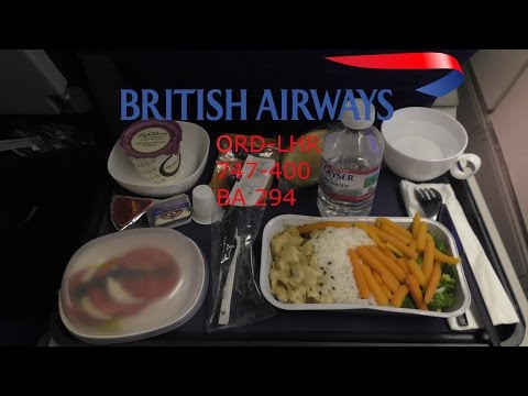 TRIP REPORT I British Airways World Traveller (Economy) I 747-400 I ORD-LHR