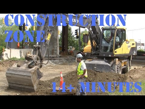 Trucks for Kids - Construction Zone 16 - Digger and Workers