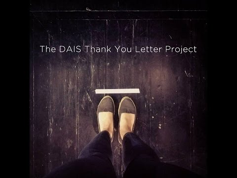 The DAIS Thank You Letter Project
