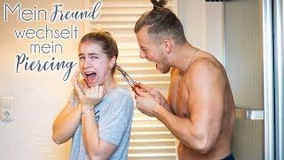 Piercing-Session mit meinem Freund! | VLOG