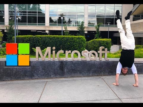 Microsoft Internship   First Day At Work!!