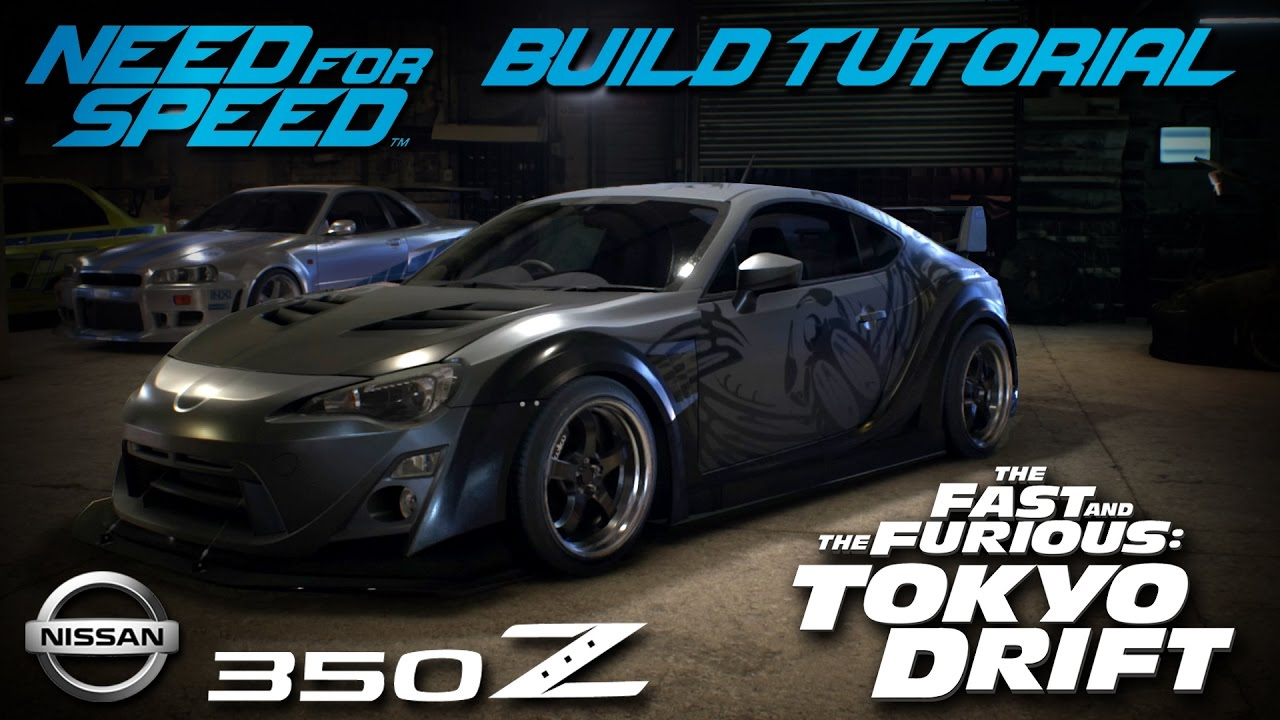 Need For Speed Tokyo Drift Dk Takashi S Nissan Build