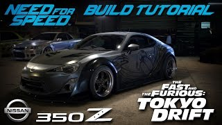 Need for Speed 2015 | Tokyo Drift DK Takashi's Nissan 350Z Build Tutorial | How To Make
