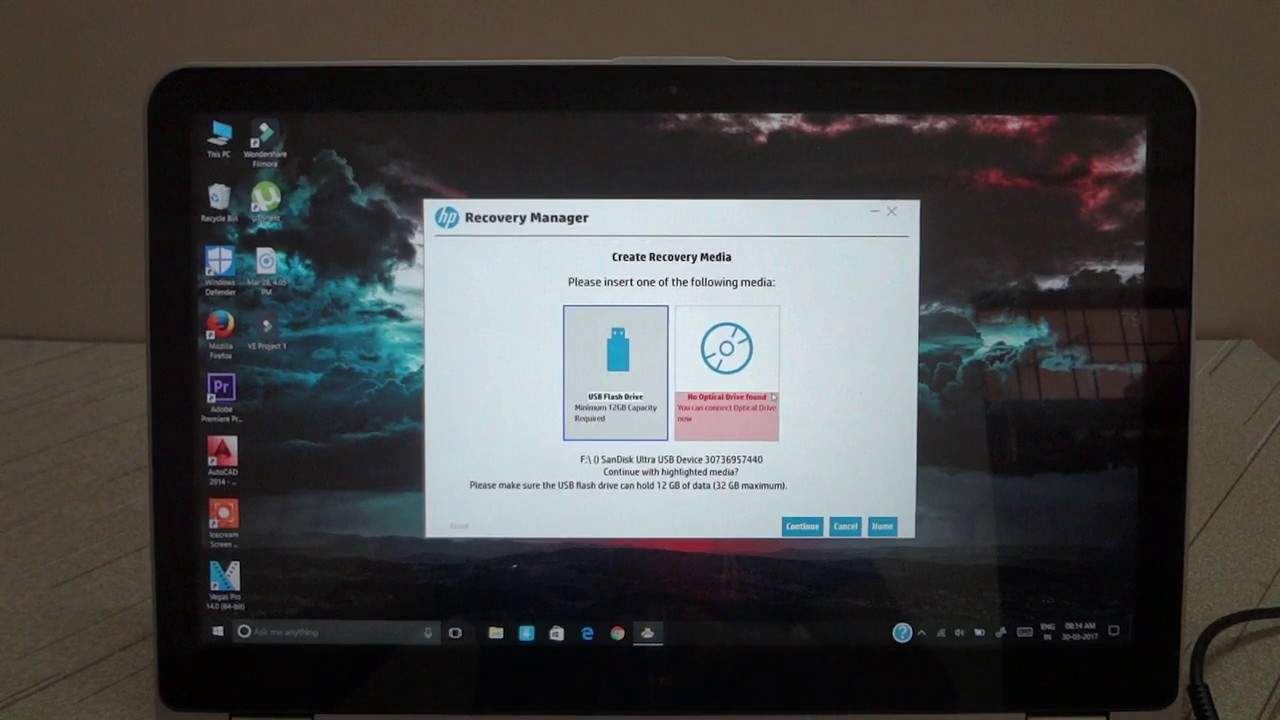 How to Create HP Recovery Media ? | Full Tutorial